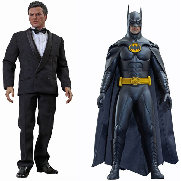 Hot Toys DC Comics Batman Returns Batman and Bruce Wayne 1:6 Scale Figure