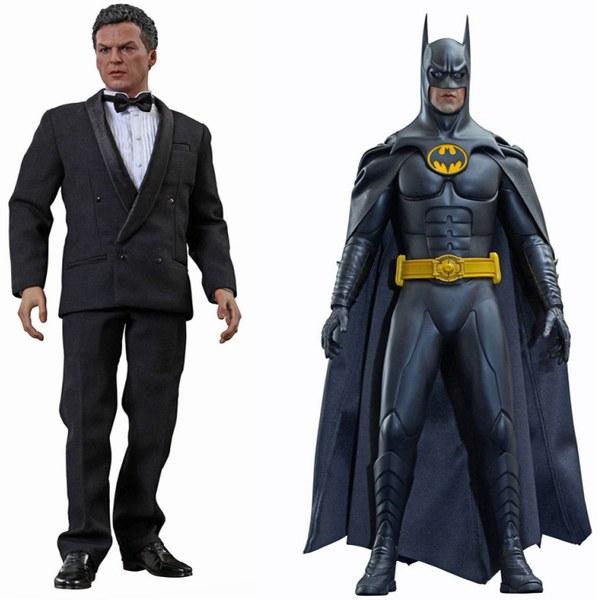 Hot Toys Dc Comics Batman Returns Batman And Bruce Wayne 1