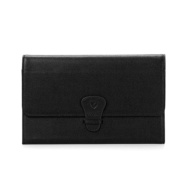 Aspinal of London Travel Wallet - Classic - Black