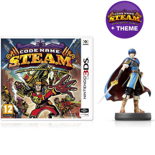 Code Name: S.T.E.A.M. + Marth No.12 amiibo Pack