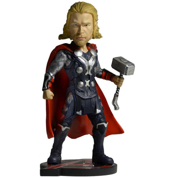 NECA Marvel Avengers Age of Ultron Thor Extreme Head Knocker