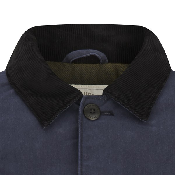 92765779fb96f Levi s Men s Engineers Coat - Nightwatch Blue Clothing