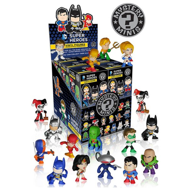 DC Justice League: Mystery Minis