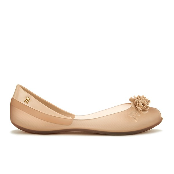Champagne Coloured Low Heel Shoes And Bags
