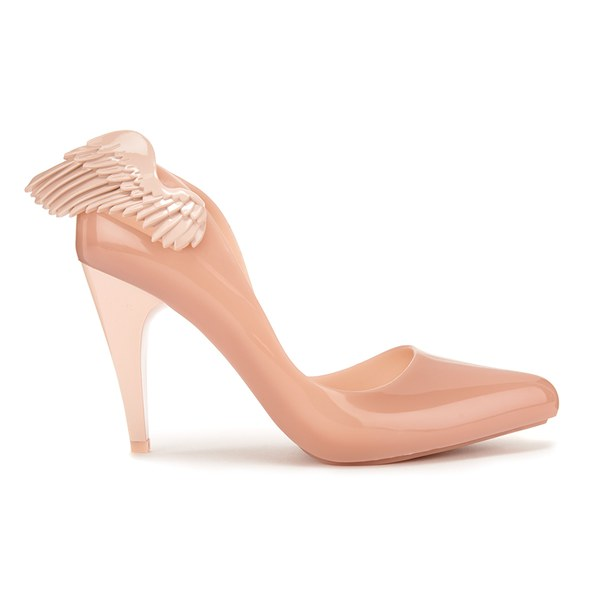 f882b049520b Vivienne Westwood for Melissa Women s Classic Angel Wing Heeled Courts -  Nude Wing  Image 1