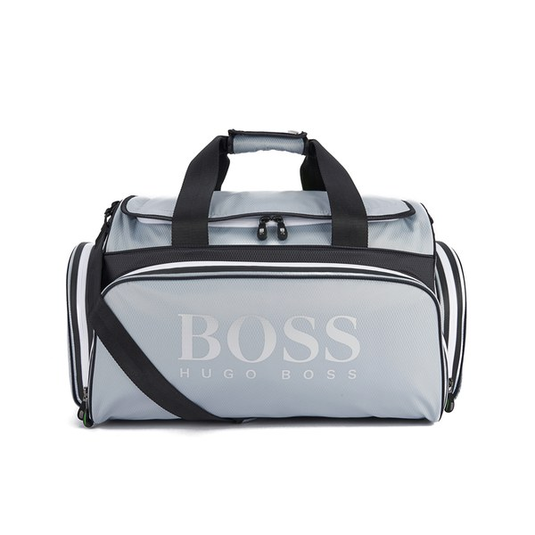 BOSS Green Men's Glint Holdall Bag - Silver