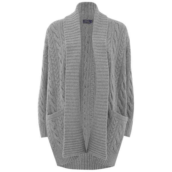 Polo Ralph Lauren Women's Georgia Cardigan - Fawn Grey