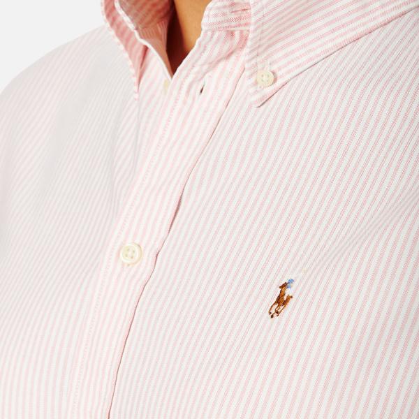 Polo Ralph Lauren Women s Harper Shirt - Pink White - Free UK ... b43b1729fa5b