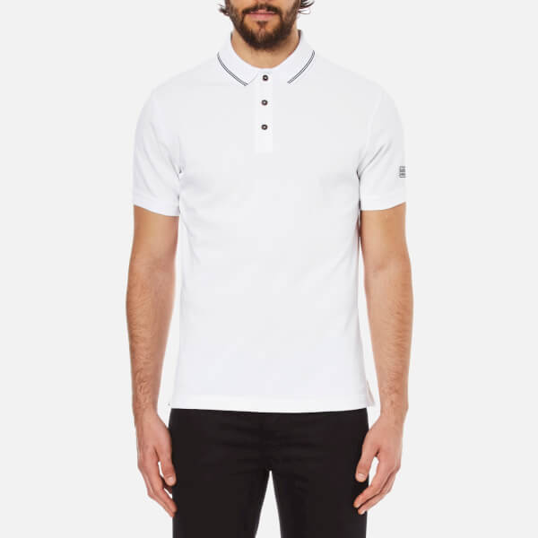 Barbour International Men's Polo Shirt - White