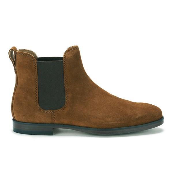 Polo Ralph Lauren Men's Dillian Suede Chelsea Boots - New Snuff: Image 1