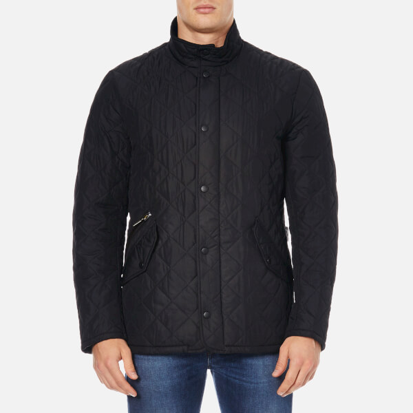 Barbour Men's Chelsea Sportsquilt Coat - Black