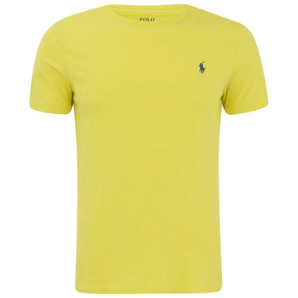 Polo Ralph Lauren Men's Short Sleeve Crew Neck T-Shirt - Hampton Yellow