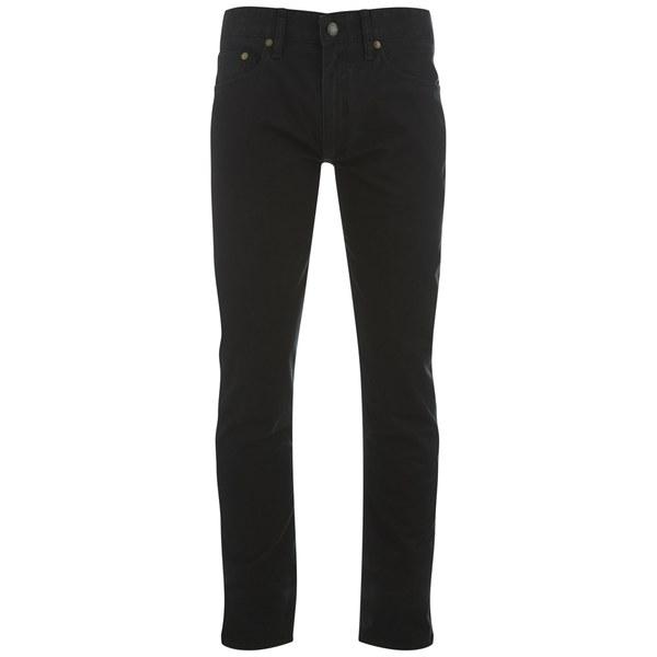 Polo Ralph Lauren Men's Sullivan Slim Fit Cotton Pants - Black: Image 1