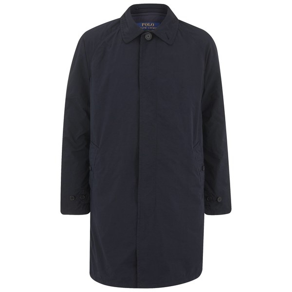 Polo Ralph Lauren Men's Buttoned Walking Coat - Navy