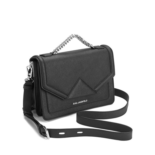 8c2af5929 Karl Lagerfeld Women's K/Klassik Shoulder Bag - Black: Image 2
