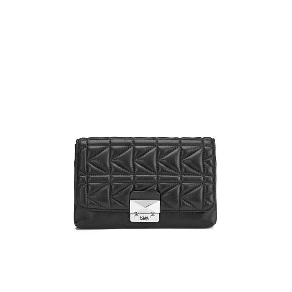 Karl Lagerfeld Stitched clutch bag gaSXxUbOZ5