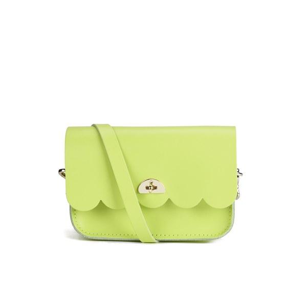The Cambridge Satchel Company Women's Small Cloud Bag - Fluoro Lime