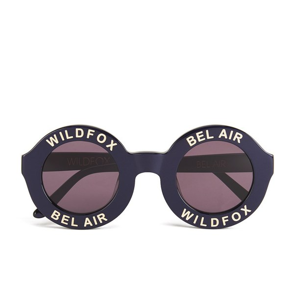 Wildfox Women's Bel Air Sunglasses - Navy Blue/Grey Sun