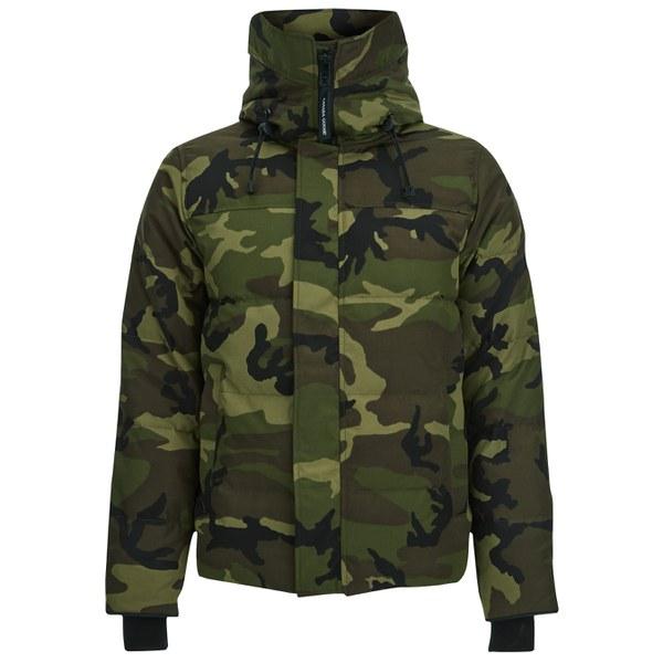 ... canada goose mens macmillan down filled parka jacket camo image 1