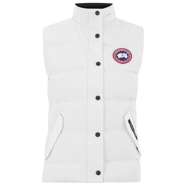 Canada Goose Women's Freestyle Vest - White: Image 1