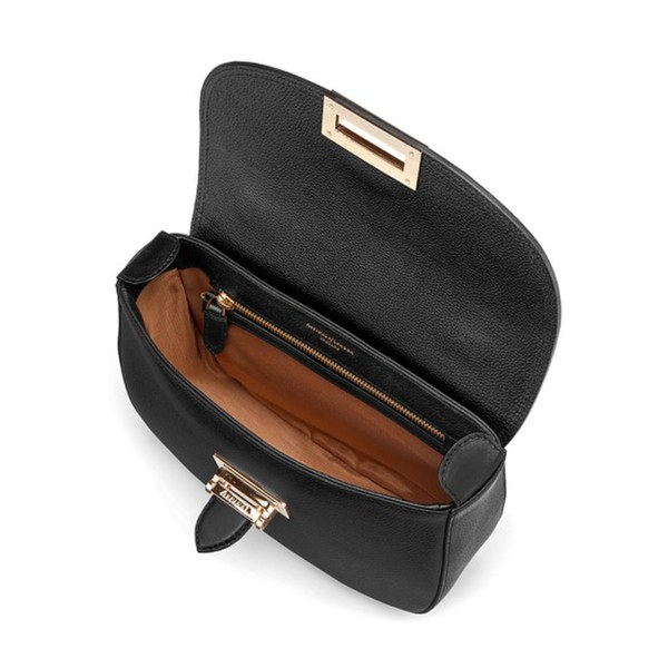 Fantastic Dark Brown Leather Ladies Saddle Bag Purse | High On Leather