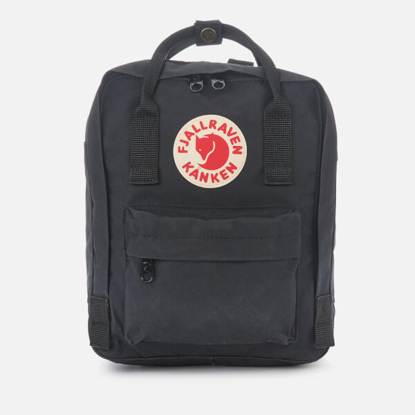 7070bb81f8 Fjallraven Kanken Mini Backpack - Black  Image 1