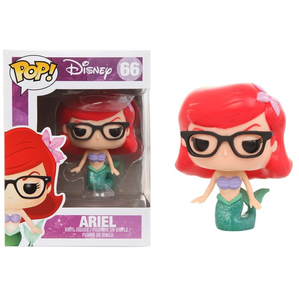 Disney The Little Mermaid Ariel Nerd Hipster Pop! Vinyl Figure
