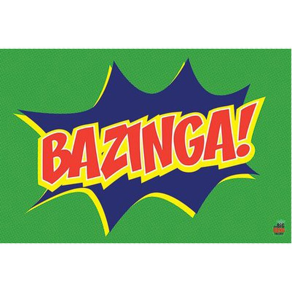 The Big Bang Theory Bazinga Icon - 24 x 36 Inches Maxi Poster
