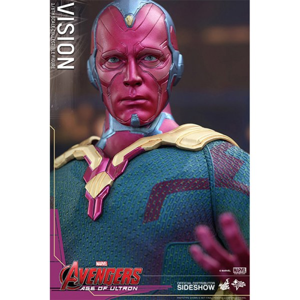 Hot Toys Marvel Age Of Ultron Vision 1:6 Scale Figure ...