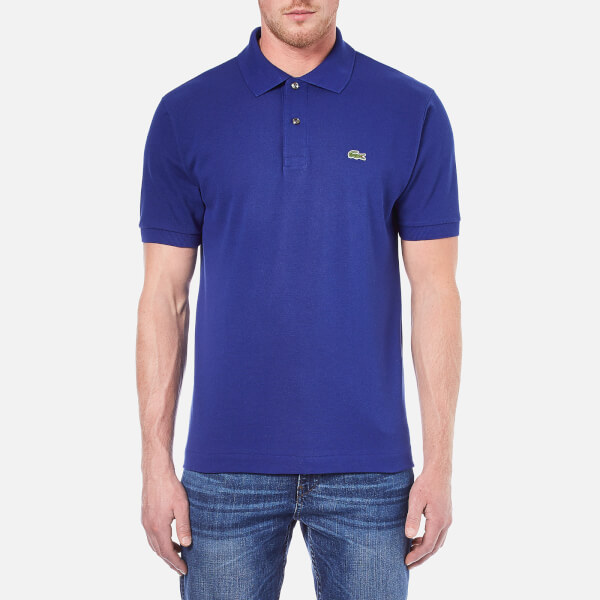 bb0802df3d0b4 Lacoste Men s Short Sleeve Polo Shirt - Ocean - Free UK Delivery over £50