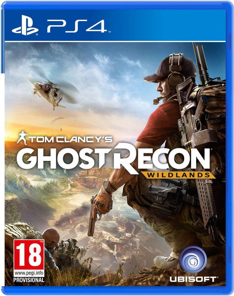 Tom Clancy Games For Ps4 : Tom clancy s ghost recon wildlands ps zavvi