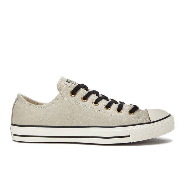 converse egret. converse men\u0027s chuck taylor all star vintage leather ox trainers - parchment/black/egret egret