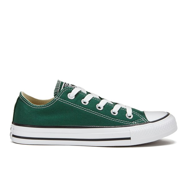 81ab9df34df Converse Unisex Chuck Taylor All Star OX Trainers - Gloom Green  Image 1
