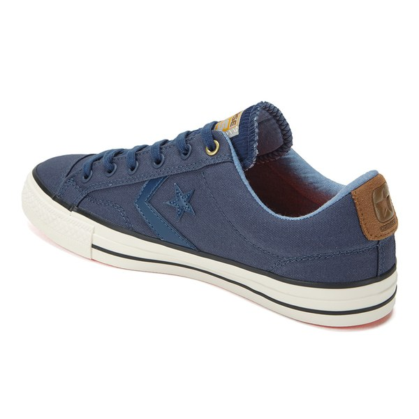 a1816e742c4 Converse CONS Men s Star Player Workwear Canvas Trainers - Navy Rubber Egret   Image