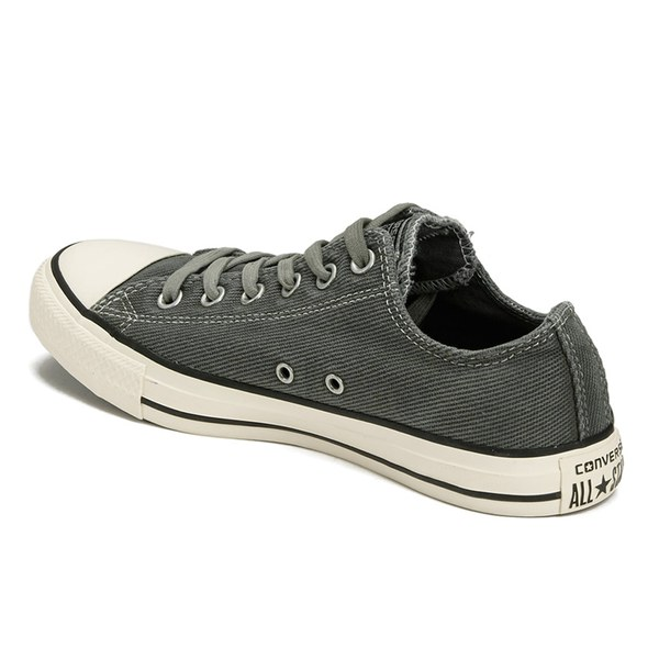 Converse Mens Chuck Taylor All Star Black Overdye Wash OX
