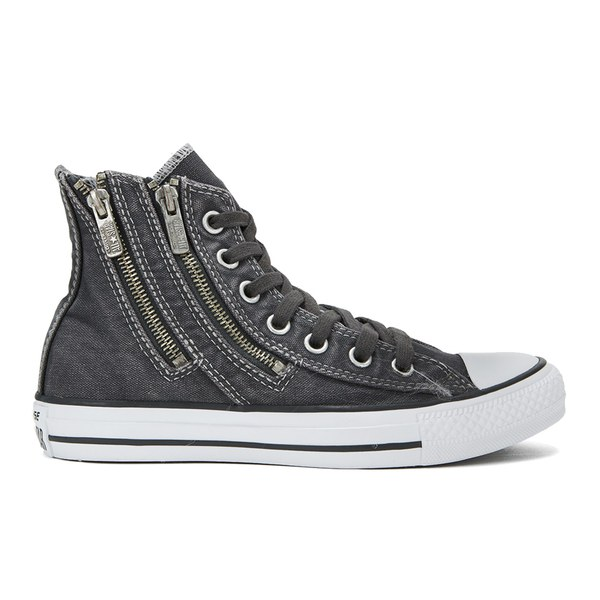 Converse Women's Chuck Taylor All Star Dual Zip Wash Hi-Top Trainers -  Storm Wind