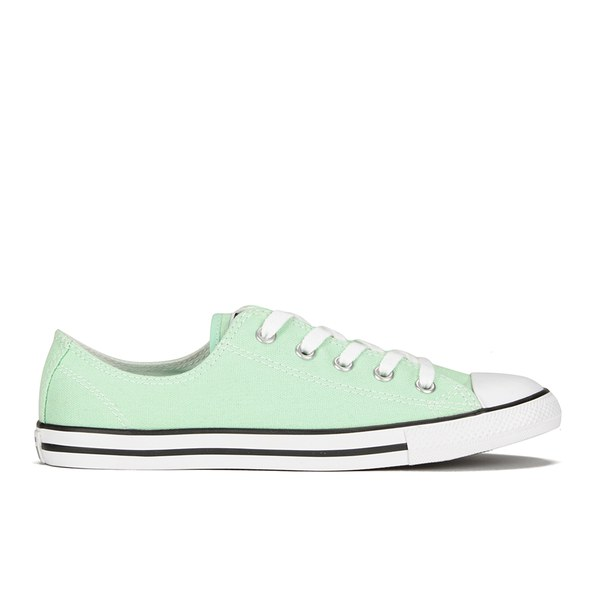 6a3843cd7676 Converse Women s Chuck Taylor All Star Dainty OX Trainers - Mint Julep   Image 1