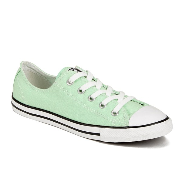 d4aefbd2ea46e8 Converse Women s Chuck Taylor All Star Dainty OX Trainers - Mint Julep   Image 4