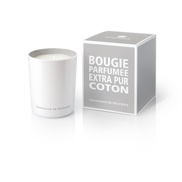 Compagnie de Provence Extra Pur Candle - Cotton Flower (180g)