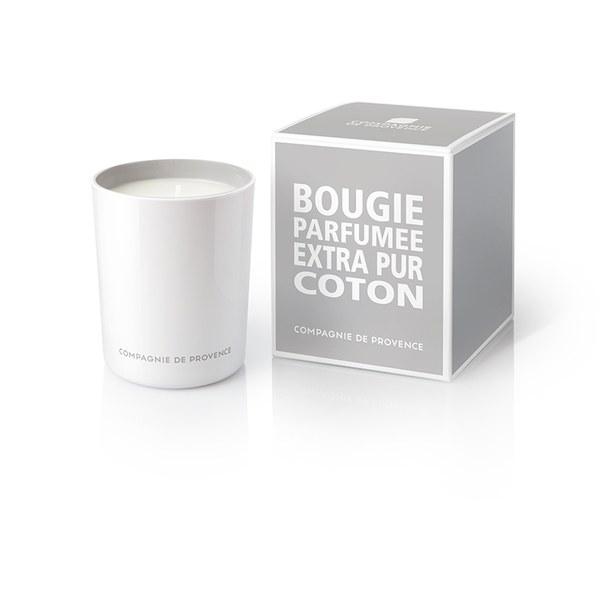 Compagnie de Provence Extra Pur Kerze - Baumwollblüte (180g)