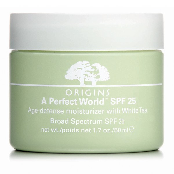 Origins A Perfect World SPF25 lotion hydratante anti-âge au thé blanc (50ml)