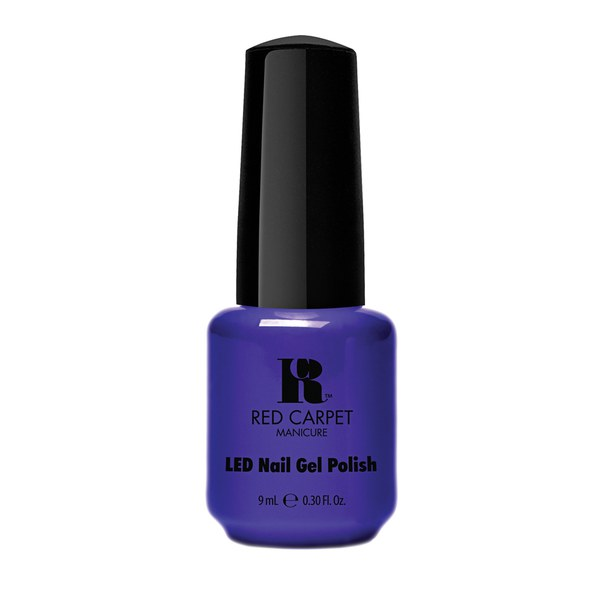 Esmalte Re-Luxe A Little en tono Bright Royal Blue Cream (9ml) de Red Carpet Manicure
