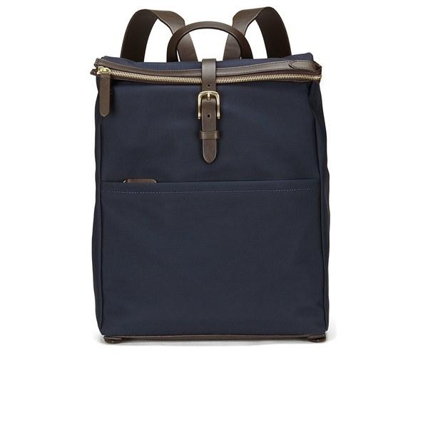 Mismo Men S Express Backpack Navy Dark Brown Image 1