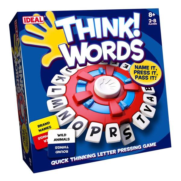John Adams Think Words Game Toys | Zavvi.com