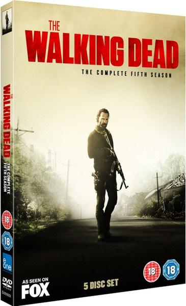 The Walking Dead Season 5 DVD Zavvicom