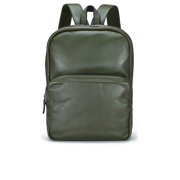 Marc by Marc Jacobs Men's Classic Leather Backpack - Workwear Fatigue