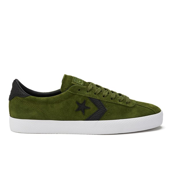 Converse CONS Breakpoint Premium Suede Trainers - Imperial Green/White/Black:  Image 1