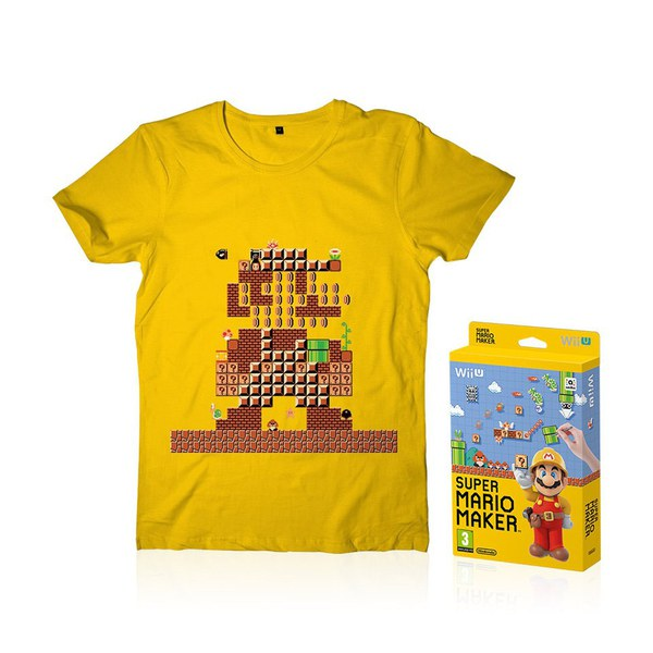 super mario maker t shirt nintendo official uk store