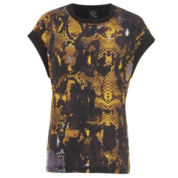 McQ Alexander McQueen Women's Printed Top - Amber Snake