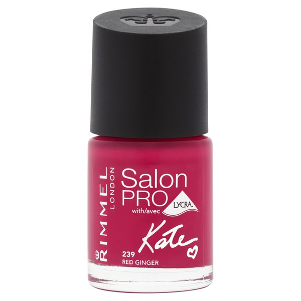 Rimmel kate salon pro nail polish red ginger free for Added touch salon